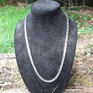 Other - Stainless large link necklace